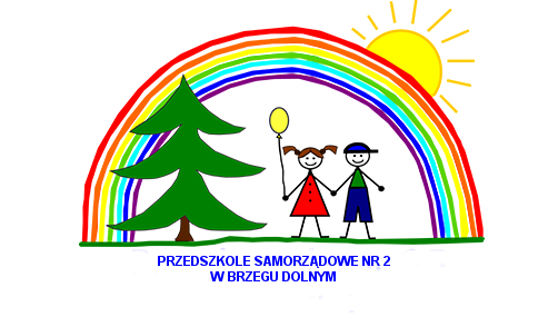 Logo Przedszkole Samorządowe Dzieci i tęcza